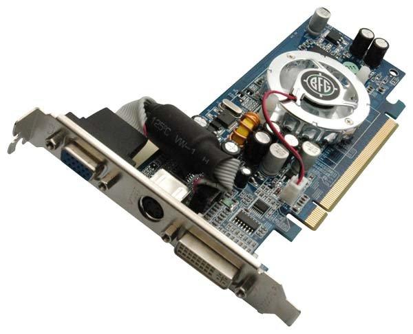 BFG GeForce 6200 TC 350Mhz PCI-E 32Mb 550Mhz 64 bit DVI TV