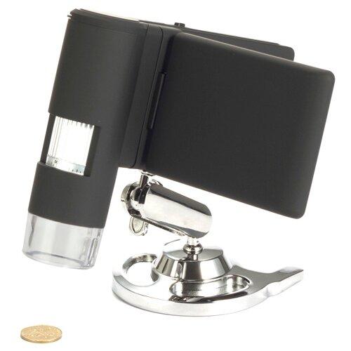 цены Микроскоп LEVENHUK DTX 500 Mobi черный