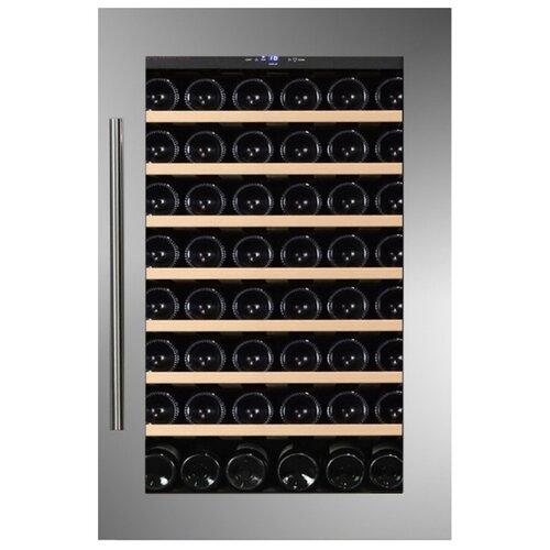 Встраиваемый винный шкаф Dunavox DAB-48.125SS винный шкаф 215 л на 89 бутылок черный dab 89 215db dunavox