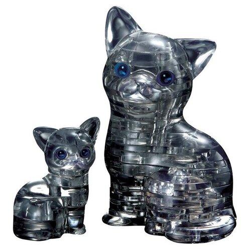 Фото - 3D-пазл Crystal Puzzle Кошка с котенком (90226), 49 дет. 3d пазл crystal puzzle дельфин 91004 95 дет