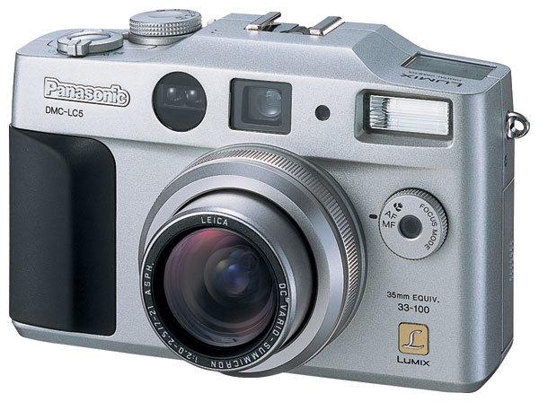 Фотоаппарат Panasonic Lumix DMC-LC5
