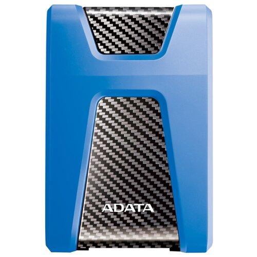 Фото - Внешний HDD ADATA DashDrive Durable HD650 USB 3.1 1 ТБ синий adata hd650 dashdrive durable 1tb 2 5 синий
