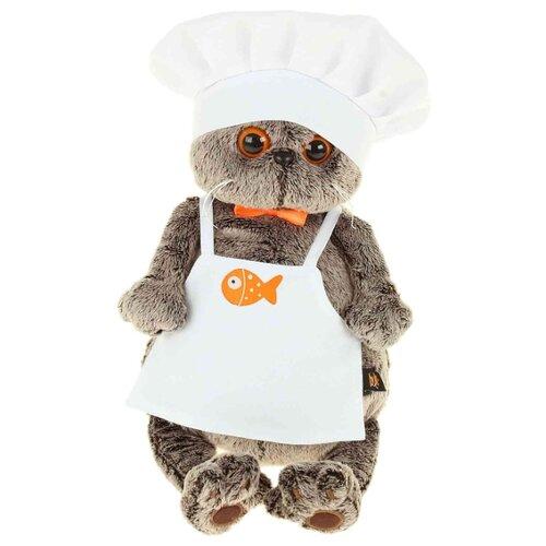 Купить Мягкая игрушка Basik&Co Кот Басик шеф-повар 19 см, Мягкие игрушки
