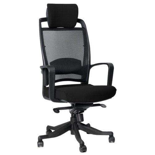 Компьютерное кресло Chairman 283 для руководителя, обивка: текстиль, цвет: черный 26-28 компьютерное кресло chairman 434n для руководителя обивка текстиль цвет вельвет черный