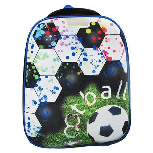 CENTRUM Рюкзак каркасный Футбол 1 отд, 37х31.5х17 см (88724) синий/белыйРюкзаки, ранцы<br>