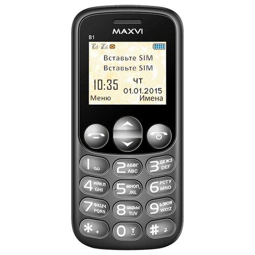 Телефон MAXVI B1 черный