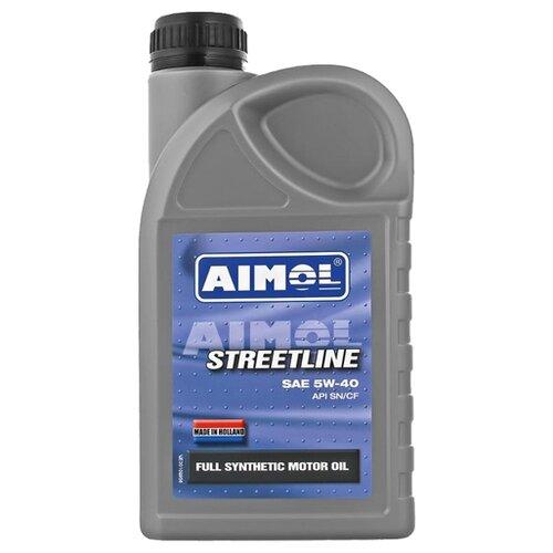 Моторное масло Aimol Streetline 5W-40 1 л моторное масло aimol pro line f 5w 30 1 л 8717662396557