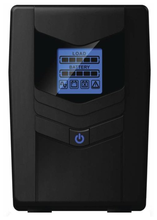 Источник бесперебойного питания CyberPower OLS OL1000ERTXL2U Онлайновый 1000ВА Стоечный LCD-дисплей