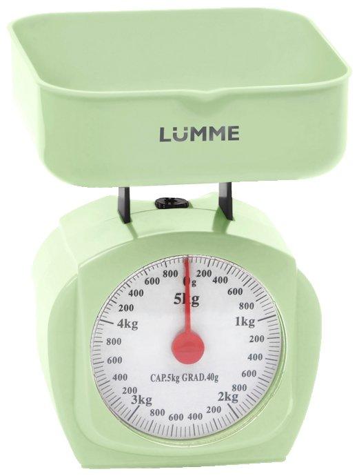 Lumme LU-1302, Red весы кухонные