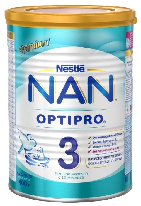 Смесь NAN (Nestlé) 3 Optipro (с 12 месяцев) 400 г