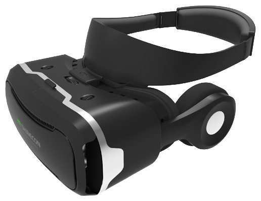 VR SHINECON VR Helmet With Hifi Headphone