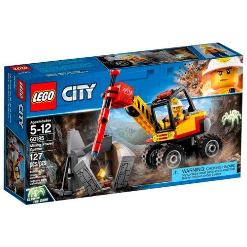 Купить Конструктор LEGO City 60185 Трактор для горных работ, Конструкторы