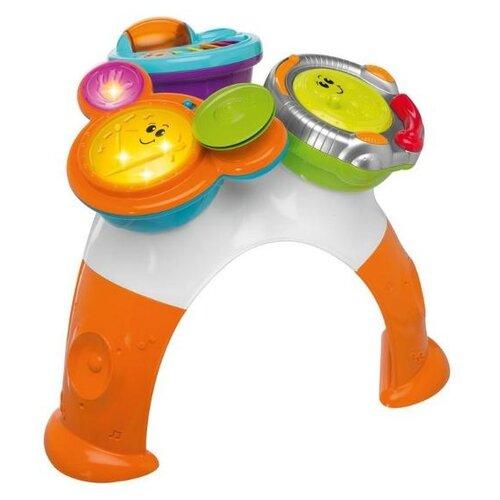 Интерактивная развивающая игрушка Chicco Музыкальный столик Rock Band белый/оранжевый/голубой/серый