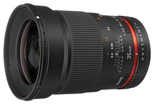 Объектив Bower 35mm f/1.4 Canon EF
