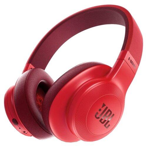Беспроводные наушники JBL E55BT красный jbl e55bt blue jble55btbl