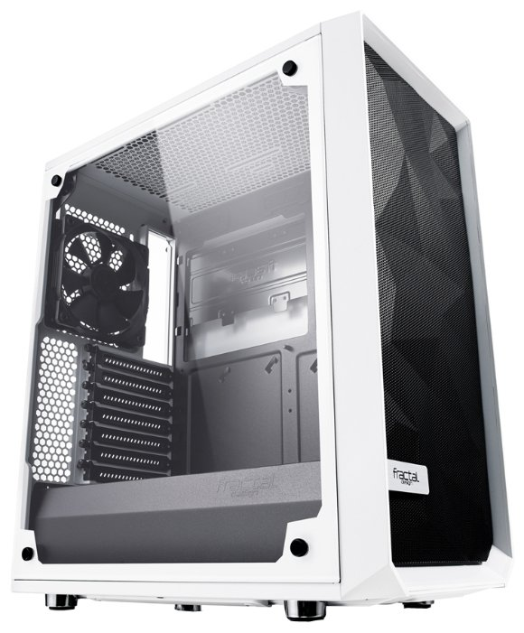 Компьютерный корпус Fractal Design Meshify C TG White