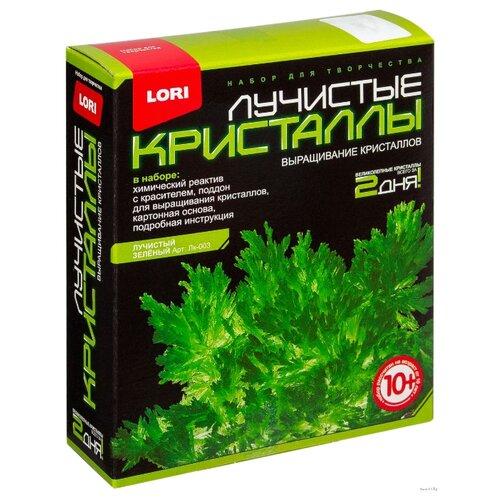 Набор для исследований LORI Лучистые кристаллы зеленый