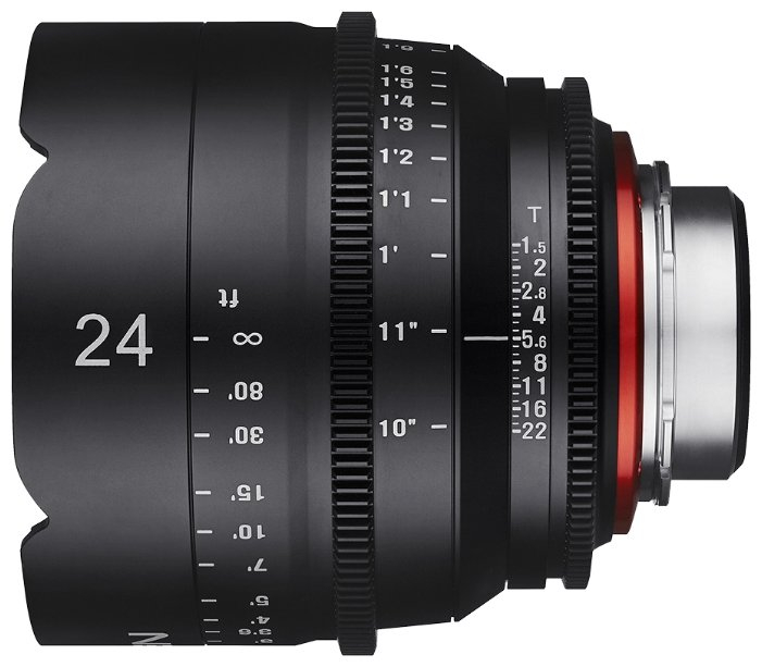 Объектив Xeen 24mm T1.5 Micro 4/3 (XN24-MFT)