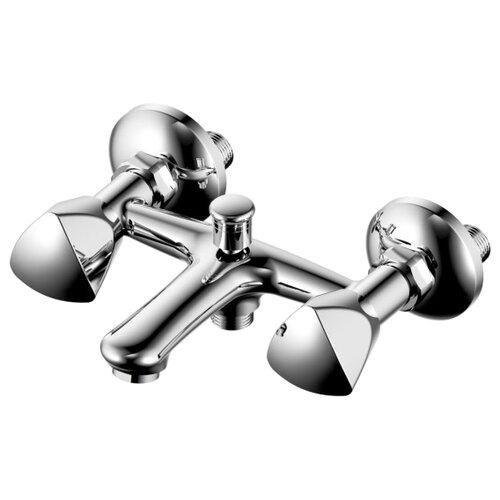 Смеситель для ванны с душем Milardo Sardinia SARSBС0M02 двухрычажный лейка в комплекте хром смеситель универсальный milardo victoria vicsblcm10 двухрычажный лейка в комплекте хром