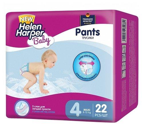 Helen Harper Baby трусики 4 (8-13 кг) 22 шт.