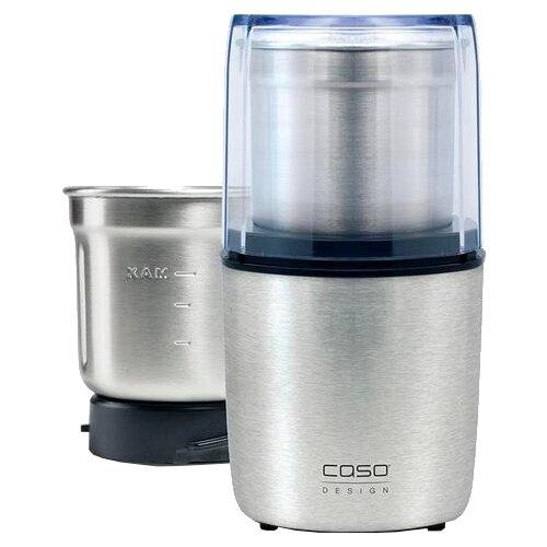 Кофемолка Caso Coffee & Kitchen Flavour серебристый