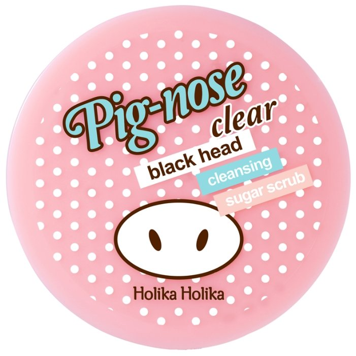 Holika Holika скраб Pig-nose clear black head cleansing sugar scrub
