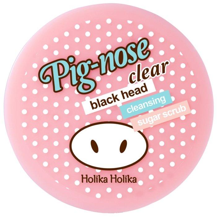 Holika Holika скраб Pig-Nose Clear Black Head Cleansing Sugar Scrub