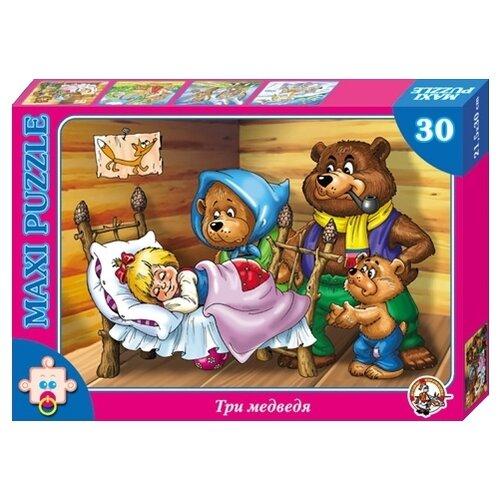 Пазл Десятое королевство Макси Три медведя (00259), 30 дет. пазл десятое королевство макси карлсон 00326 16 дет