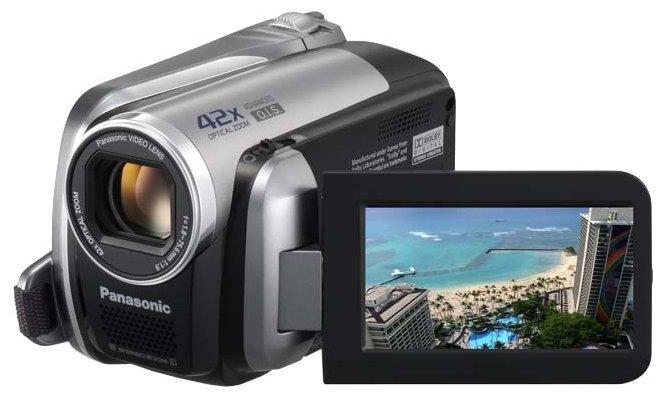 Сравнение с Panasonic SDR-H41