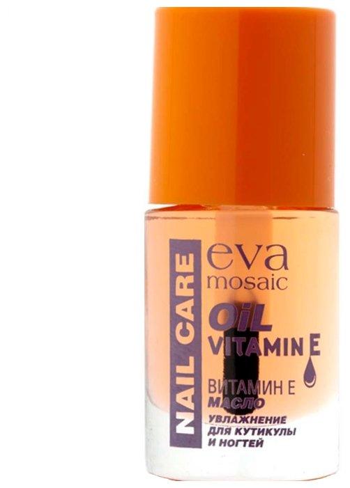 Масло Eva Mosaic Nail Care увлажняющее с витамином E для кутикулы и ногтей