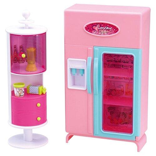 Купить Dolly Toy Кухня принцессы (DOL0803-008) розовый, Мебель для кукол