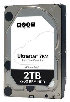 Жесткий диск Hitachi 2.0Tb HGST Ultrastar 7K2 (HUS722T2TALA604) SATA-III 7200rpm 128Mb