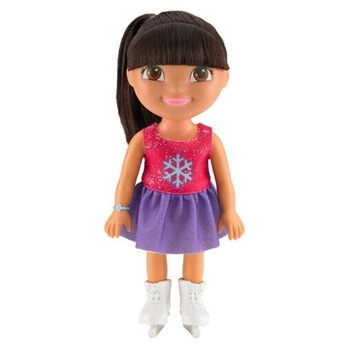 Кукла Dora the Explorer Даша-путешественница Приключения каждый день Даша на катке, BCL63 недорого
