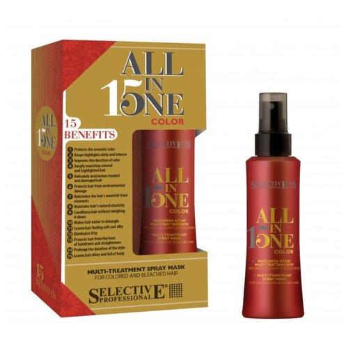 Фото - Selective Professional All In One Color Маска-спрей для окрашенных волос, 150 мл selective кондиционер для стабилизации цвета color block 200 мл selective color care