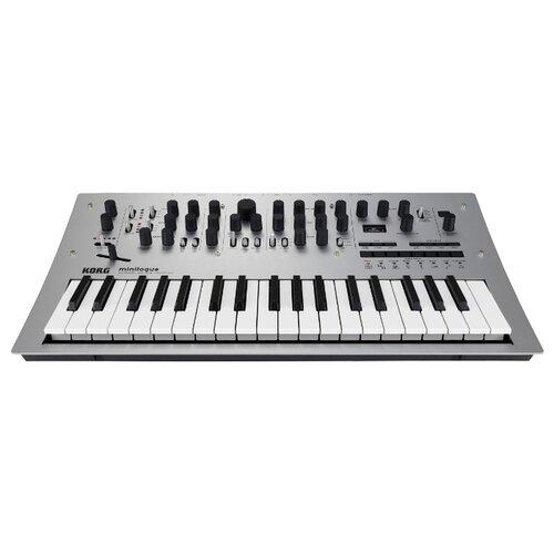 Синтезатор KORG Minilogue серый korg ca 50