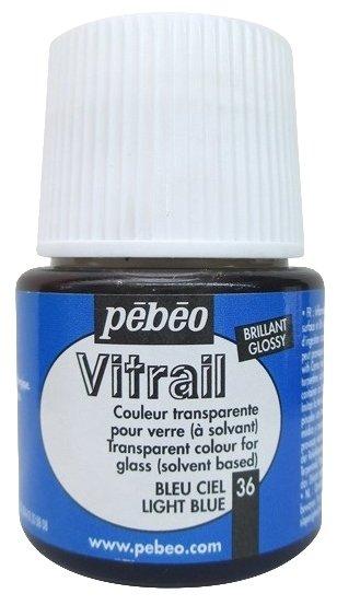 Краски Pebeo Vitrail Небесно-голубой 050036 1 цв. (45 мл.)