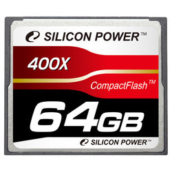 Карта памяти Silicon Power 400X Professional Compact Flash Card 64GB