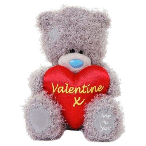 Купить Мягкая игрушка Me to you Мишка Тедди с сердцем Valentine x 18 см, Мягкие игрушки