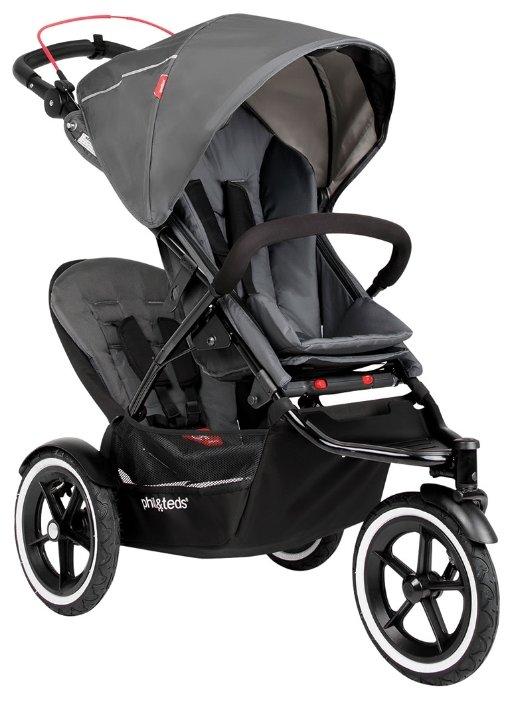 Прогулочная коляска PHIL&TEDS Navigator v2 (с доп. сиденьем)