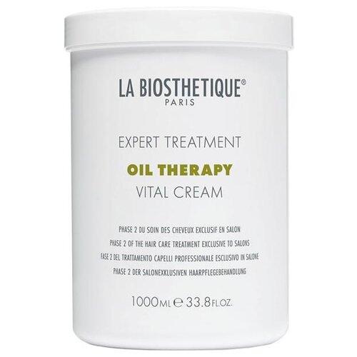 Купить La Biosthetique Oil Therapy Маска для интенсивного восстановления поврежденных волос фаза 2 Vital Cream, 1000 мл