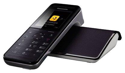 Радиотелефон Panasonic KX-PRW120RUW чёрный/белый