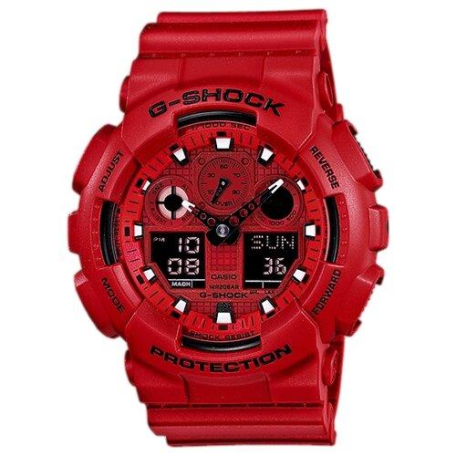 Наручные часы CASIO GA-100C-4A наручные часы casio ga 800 4a