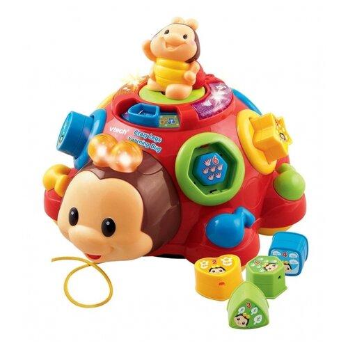 Купить Каталка-игрушка VTech Говорящий жук (80-111226) со звуковыми эффектами красный, Каталки и качалки