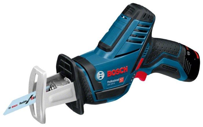 Bosch GSA 12V-14 2.0Ач х2 L-BOXX