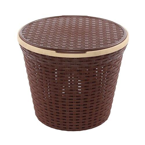 Violet Корзина для белья Ротанг 27х33х33 см коричневый