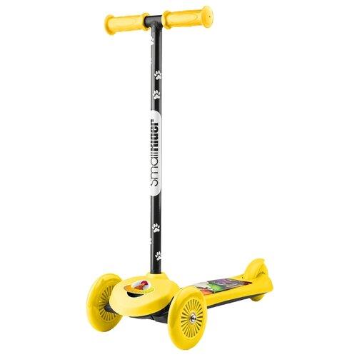 Кикборд Small Rider Cosmic Zoo Scooter желтый