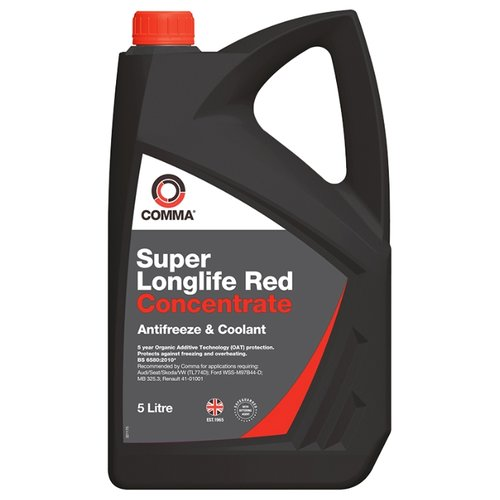Антифриз Comma Super Longlife Red Concentrate 5 л