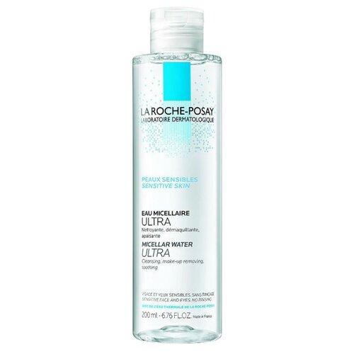 La Roche-Posay мицеллярная вода для чувствительной кожи лица и глаз Ultra Sensitive, 200 млОчищение и снятие макияжа<br>