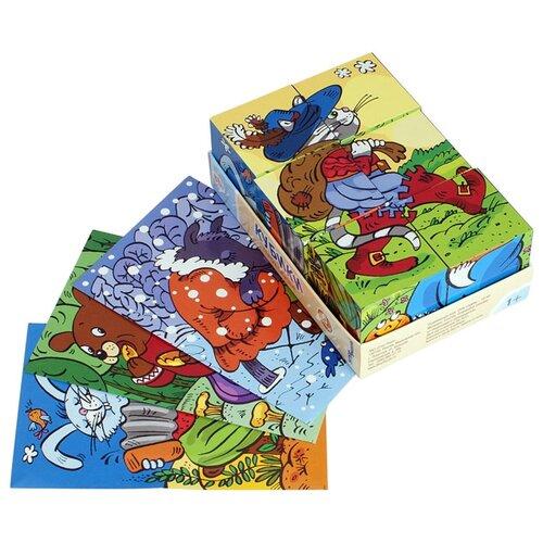 Кубики-пазлы Step puzzle Baby step Герои сказок 87331, Детские кубики  - купить со скидкой