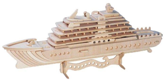 Сборная модель Мир деревянных игрушек Круизный лайнер (П124),,